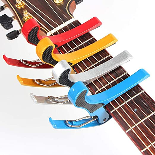 Hjyi Cejilla Guitarra,Accesorios del Instrumento Guitarra Tono ...