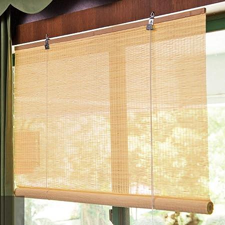 Persiana de bambú Sombra De Balcón Vertical De La Ventana del Toldo del Rodillo Externo, Envoltura para Patio Exterior Patio Gazebo, 85cm / 105cm / 125cm / 145cm Ancho (Size : 85×180cm): Amazon.es: Hogar