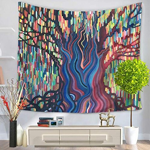SYTX Tree of Life Tapestry Bohemian Tapestries, Indian Dorm Decor, Psychedelic
