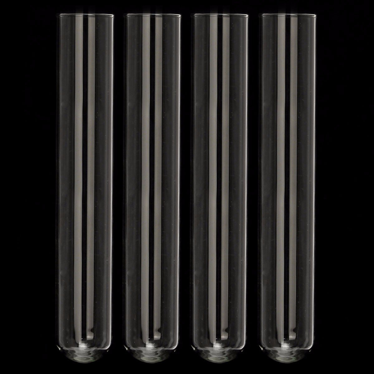 4pcs of pack Pyrex Glass Blowing Tubes Laboratory Test Tube150mm 24444