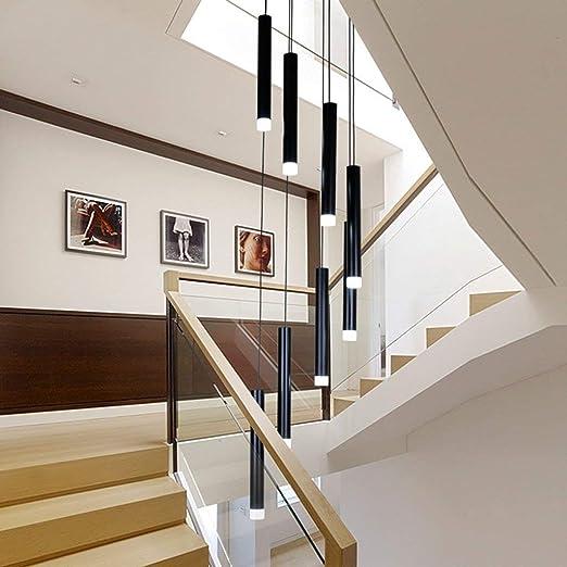 Apliques Pared De pared de luz / Iluminación Duplex larga escalera ...