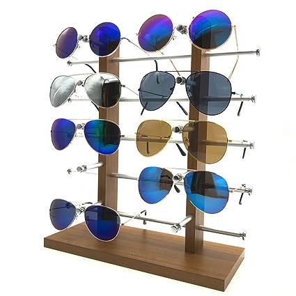 Z.N.Z 10 Pares de Gafas 3D de Madera Desmontable de Doble ...