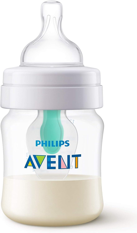 Philips Avent SCF810/14 - Biberón anti cólicos con sistema patentado Airfree, 125 ml