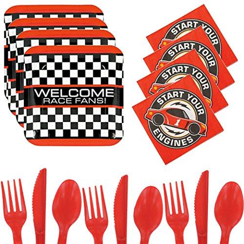 racing car party supplies - 3