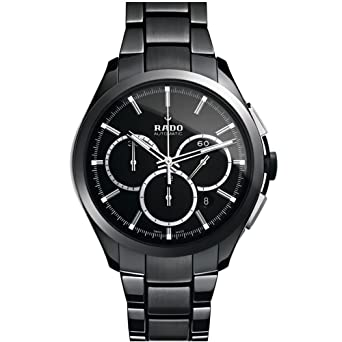 d3f5a72196ba Image Unavailable. Image not available for. Color  Rado Hyperchrome XXL  Black Dial Ceramic Chrono Automatic Men s Watch R32275152