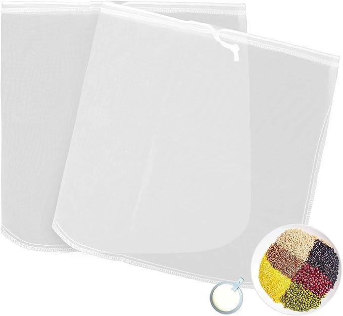 Compra Diealles Shine Bolsa de Leche de Nuez, Nylon Reutilizable ...