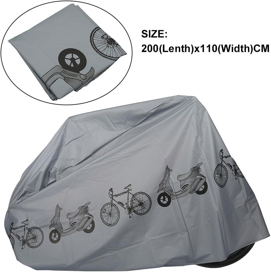2 x 1.1m Protector de Moto Keenso Funda para Bici Bicicleta Electrica