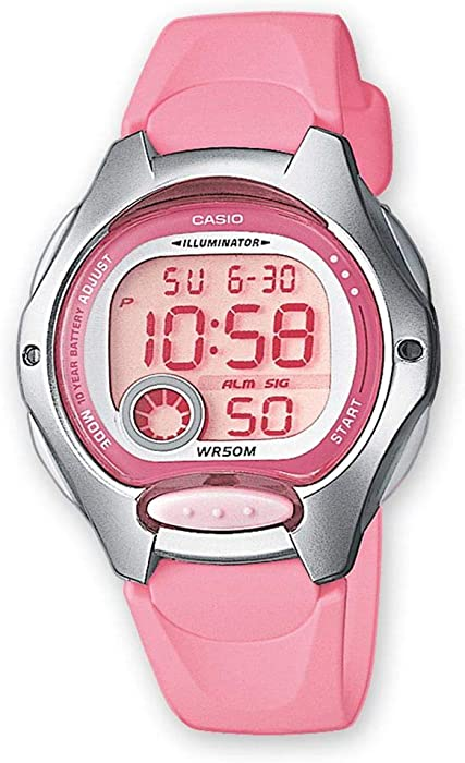 Casio Reloj Digital para Mujer de Cuarzo con Correa en Resina LW-200-4BVEF 232edbf33345