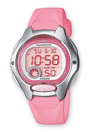 Reloj casio digital mujer rosa