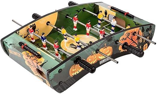 SMEJS Futbolín Máquina - Competencia Mesa de Juego de fútbol de tamaño Fútbol Arcade for Game Cubierta Habitación Deporte: Amazon.es: Hogar