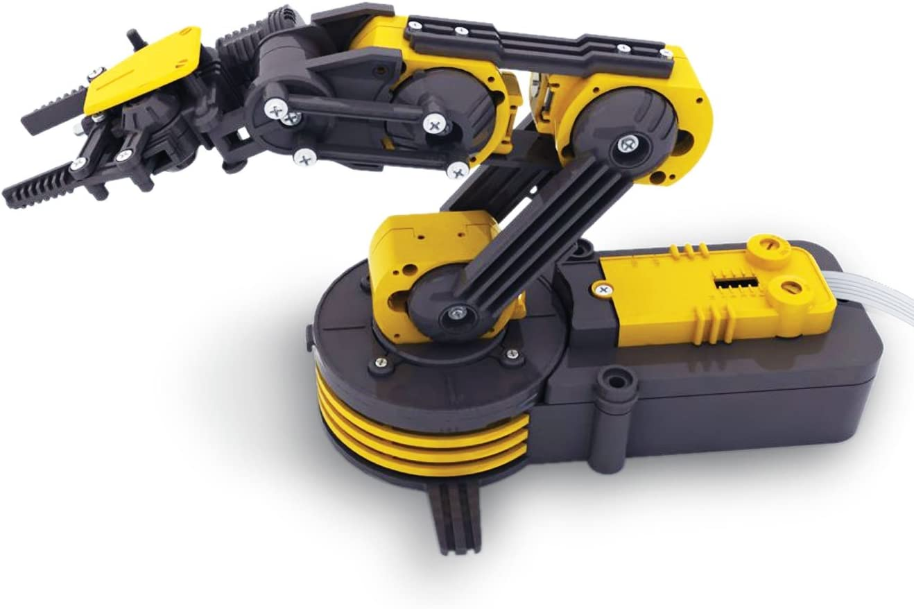 Thumbs Up Build Your Own Robot Arm Self Assembly Kit Technologically Advanced