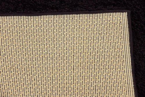 Unique Loom Solo Solid Shag Collection Modern Plush Jet Black Rectangle (5' x 8') by Unique Loom (Image #14)