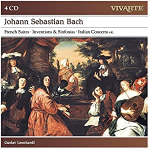 Bach: French Suites, Inventions & Sinfonias, Italian Concerto.