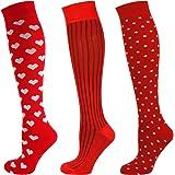 Mysocks Knee High Flower Pattern Socks