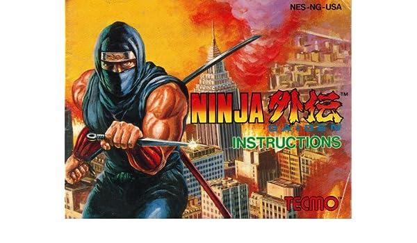 Ninja Gaiden Instruction Booklet / Manual (NES Manual Only ...