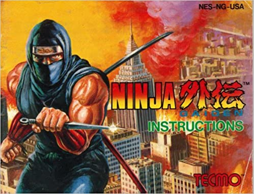 Ninja Gaiden Instruction Booklet / Manual (NES Manual Only ...