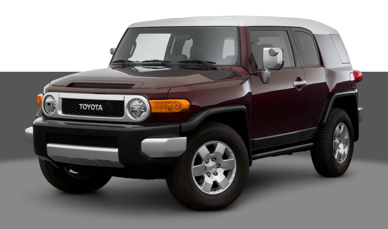 2007 Toyota FJ Cruiser, 2-Wheel Drive 4-Door Automatic Transmission (GS ...