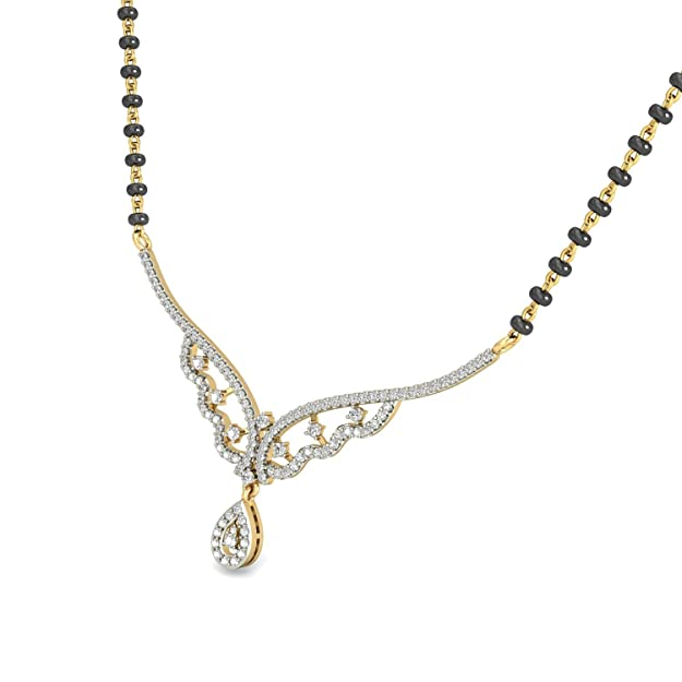 PC Jeweller The Yanitsa 18KT Yellow Gold   Diamond Pendant Pendants