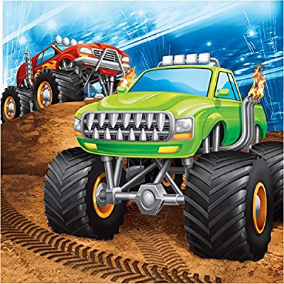 Monster Big Truck Rally Party Bundle 9