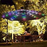 BOTER Umbrella Lights Patio LED String Lights