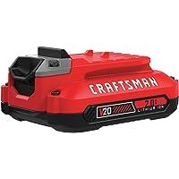 CRAFTSMAN 20V MAX Lithium Ion Battery, 2.0-Amp Hour (CMCB202)