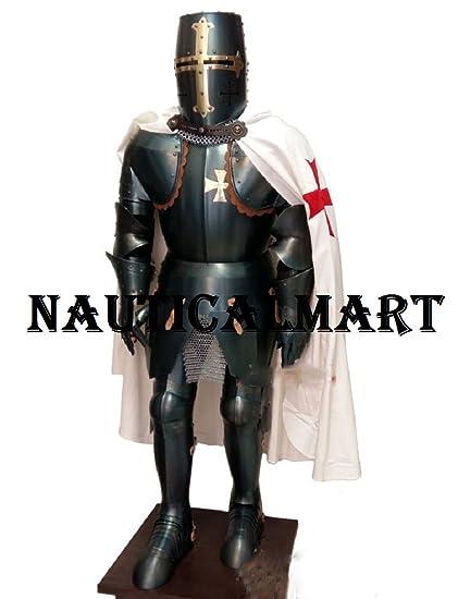 NAUTICALMART Medieval Knight Halloween Costume Body Suit Of Armor  sc 1 st  Amazon.com & Amazon.com: NAUTICALMART Medieval Knight Halloween Costume Body Suit ...