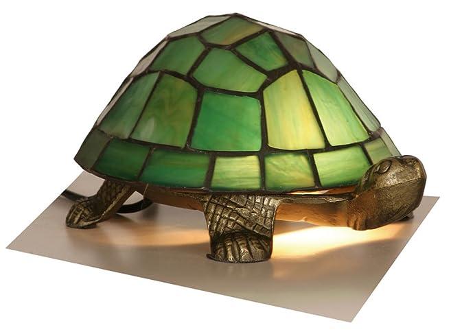 Green Tiffany Tortoise Lamp: Amazon.co.uk: Lighting