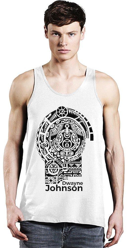 Dwayne Johnson Tattoo Tank Top XX-Large: Amazon.es: Ropa y accesorios