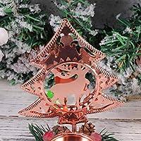 TOYANDONA candelabro de Navidad candelabro árbol de Navidad ...