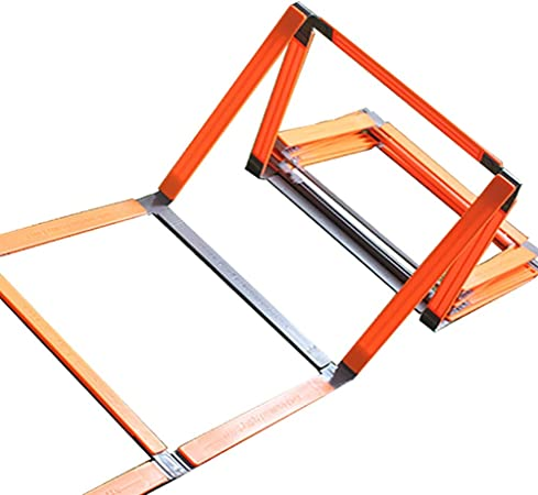 Speed Ladder - Escalera para entrenamiento de agilidad, color naranja: Amazon.es: Hogar