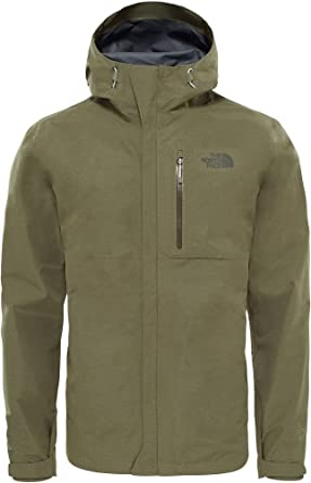 d8f1197c2c73 THE NORTH FACE Dryzzle Jacket Gore-Tex® T92VE8H3R Burnt Olive Green  Heather  Amazon.co.uk  Clothing