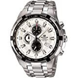 Casio Edifice Tachymeter Chronograph White Dial Men's Watch - EF-539D-7AVDF (ED370)