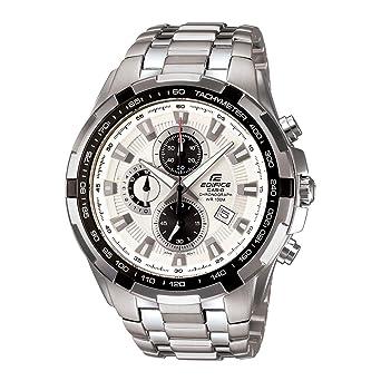 77d64fc0cf01 Casio Edifice Tachymeter Chronograph White Dial Men s Watch - EF-539D-7AVDF  (ED370