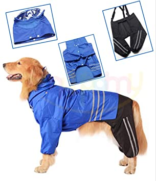 Impermeable de mascotas - Impermeable para perros medianos y ...