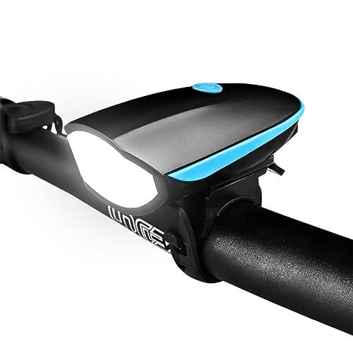Nclon Vélo Light Set Led,Lampe Vélo Usb Rechargeable Ip65 Impermeable Super Bright Clignotant Avertissement De Sûreté Lumière Avant Et Arrière S'adapte à Tous Les V&eacute