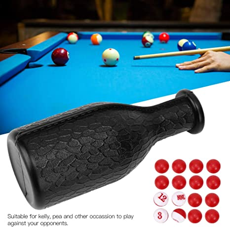 Kelly Pea for Match Numbered Tally Balls Billiard Accessories Game 03 Billiard Dice Box Free Playing Billiard Pool Shaker