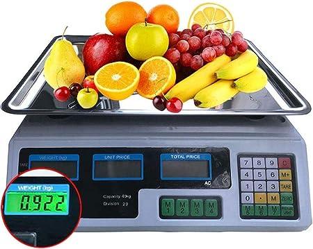 40KG Bilancia elettronica digitale Prezzo Calcolo dei prezzi
