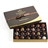 Godiva Chocolatier Dark Chocolate Truffles, 24 Count