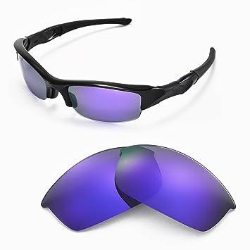 Sunglasses Restorer Lentes De Recambio Para Oakley Flak Jacket (Purple Mirror Polarizado)
