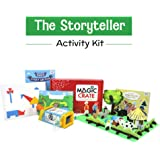 Magic Crate Activity Kit for4+ Year-olds: The Storyteller ( Contains 3 Activities and a Storybook)