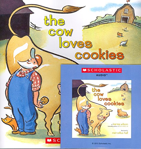 The Cow Loves Cookies (Paperback book with Audio CD)