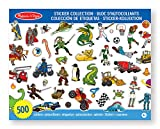 Best Sticker Books - Melissa & Doug Sticker Collection Book: 500+ Stickers Review