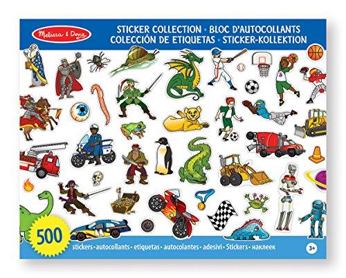 Melissa & Doug - 14246 - Sticker-Kollektion - Blau