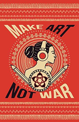 Geek Details Make Art Not War 11 X 17 Art Print Poster