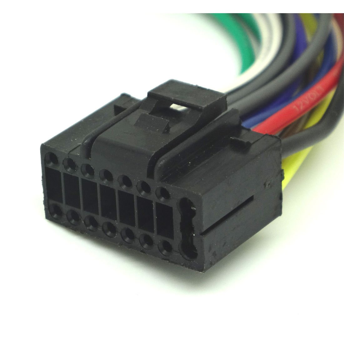 Kenwood Kdc 258u Wiring Harness Diagrams Stereo Diagram Amazon Com Conpus 16 Pin Radio Car Audio Wire For Rh