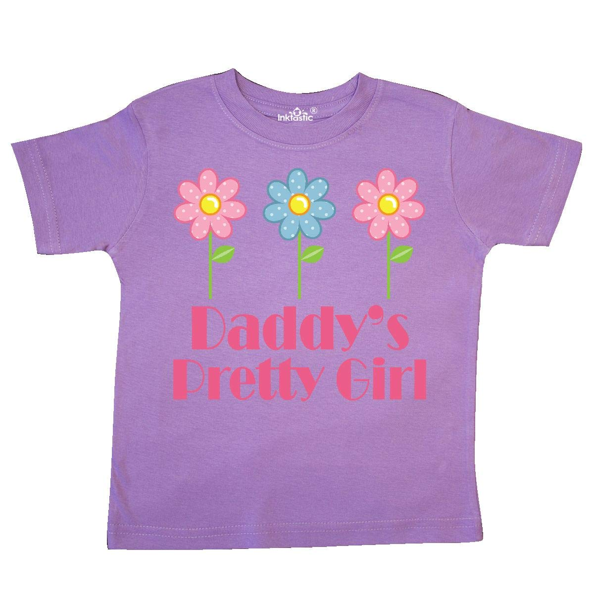 inktastic Daddys Pretty Girl Toddler T-Shirt