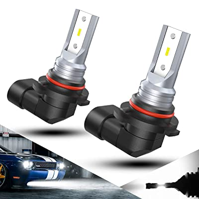 H10 9145 LED Fog Light Bulbs 2000 Lumens 6500K Xenon White 9140 9045 9155 9040 5730 Waterproof 12V 9145 9140 Led Fog Driving Light 2PCS: Automotive
