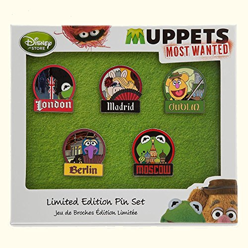 Disney Muppets Most Wanted Limited Edition Pin Set by Disney