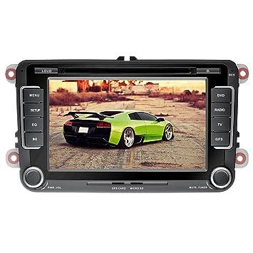 YINUO 7 Pulgadas 2Din Pantalla Tácil Estéreo Reproductor De DVD De Navegación GPS Bluetooth De Coche