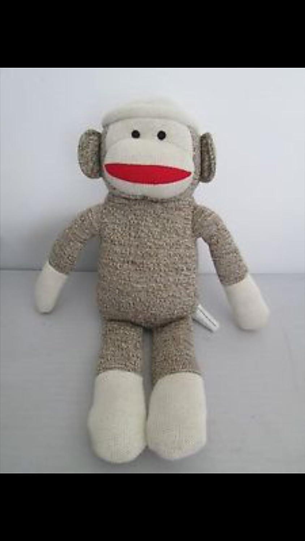 amazon com kohls skippyjon jones sock monkey plush by kohl u0027s